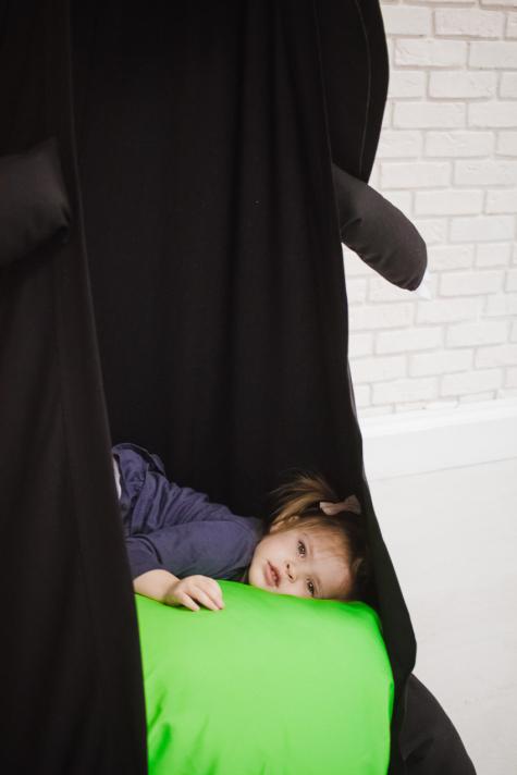 Кресло-игрушка «Черный Дракон»