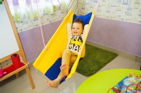 Покачайка сине-жёлтый