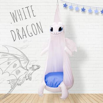 Кресло-игрушка «Белый Дракон»