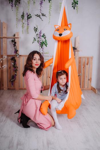 Кресло-игрушка «Лисичка»