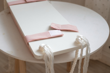 Качели БОХО (цвет Розовый)